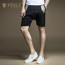 Military Sale Midweight Casual Pinli Product 2017 New Summer Men's Clothing Embroidered Leisure Pants Five Minutes B172817395