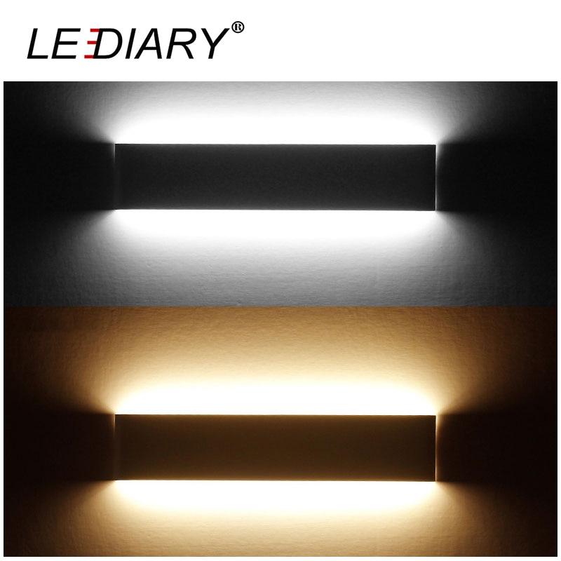 LEDIARY Modern LED Wall Lamp 14W 41CM LED Aluminum Black/White Indoor For Living Room As Decoration Lighting Fixture AC 100-240V<br><br>Aliexpress