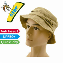 high technology,anti mosquito,prevent insect bite,anti-uv,uv cut, upf50+,breathable,quick-dry ,outdoor bucket hat