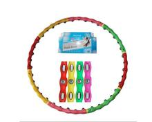 Lightweight Magnet Hula Hoop Detachable Ring Tube Circle for Waist Slimming Health Body Building Equipment free shipping
