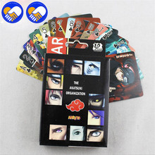 A TOY A DREAM 54pcs/set Naruto Cartoon Anime Poker Cards Anime Poker cards Toys For Pendant Action & Toys Figure Cosplay Toys