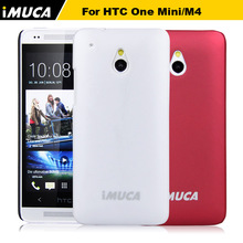 Original brand IMUCA Hard Case For HTC ONE mini Luxury Back Cover case for htc one mini m4 cell phones cases