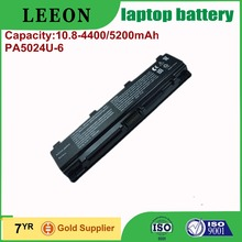 Hot sale best supplier laptop battery for TOSHIBA PA5023U-1BRS PA5024U-1BRS PA5025U-1BRS PA5026U-1BRS PABAS259 PABAS260 PABAS261