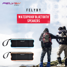 FELYBY Bluetooth Speaker Waterproof Player / Shockproof / Dustproof Subwoofer Built-in Outdoor Wireless Speaker 4500MAH Stereo(China)