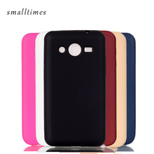 Simple Pure Color Soft Silicon TPU Case For Samsung Galaxy Core 2 G355H SM-G355H G3559 Ultra Thin Cellphone Back Cover