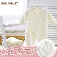 Free shipping HelloBaby clothes newborn climb rompers carters baby jumpsuit fall and winter clothing long-sleeve three thick