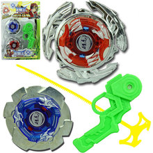 Two-In-One Gyro Fighting Interactive Gyro Set Fidget Spinner Classic Beyblade Metal Fusion Gyroscope Beyblade Set Toys