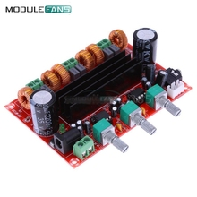 TPA3116 TPA3116D2 50W x 2 + 100W 2.1 3 Channel Digital Subwoofer Power Audio Amplifier Board DC 12V-24V(China)