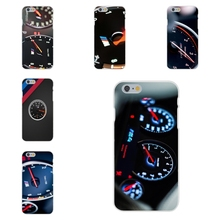 BMW M CAr instrument panel For Apple iPhone 4 4S 5 5C SE 6 6S 7 7S Plus 4.7 5.5 Soft TPU Silicon Mobile Shell
