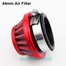 Red Universal Air Filter Steel 44mm For 47cc 49cc Cat Eye Pocket Mini ATV Dirt Pit MotoBikes(China)