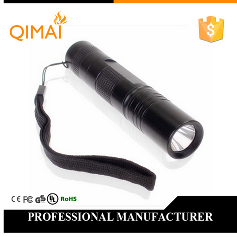 Waterproof Mini LED Torch 2000 Lumens Q5 Led Flashlight lamplight CREE mini Torch Light 5 Modes 18650 3.7v Battery