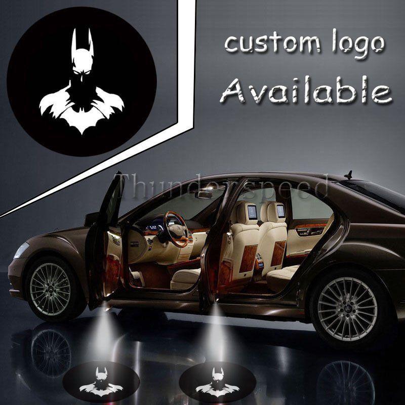 Dark Knight Batman Bat Logo Light Car Door Gobo LED Projector Shadow Laser Lamp #1499*4<br><br>Aliexpress