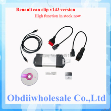 DHL Free for Renault can clip interface v165 version can clip support 19 languages diagnostic interface for Renault Can Clip