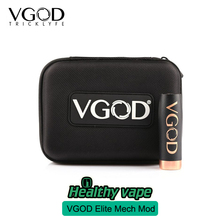 Presale E cigarette 100% Original VGOD Elite Series Mech Mod With Vgod Vapor Case Bag Kbag Vaporizer match With PRO DRIP RDA