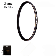 Top UHD Zomei Ultrathin 77mm UV Filter Lens Multi-Resistant Coating Oil Soil Waterproof for Canon 700D Sony Camera Screw Border(China)
