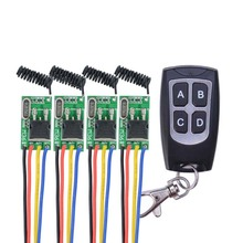 DC6V-36V 6V 7.4V 8.4V 7.6V 9V 12V 24V 16V 28V 36V Car Bus Truck Train Power Remote Control Switches Mos Receiver No Sound Micro