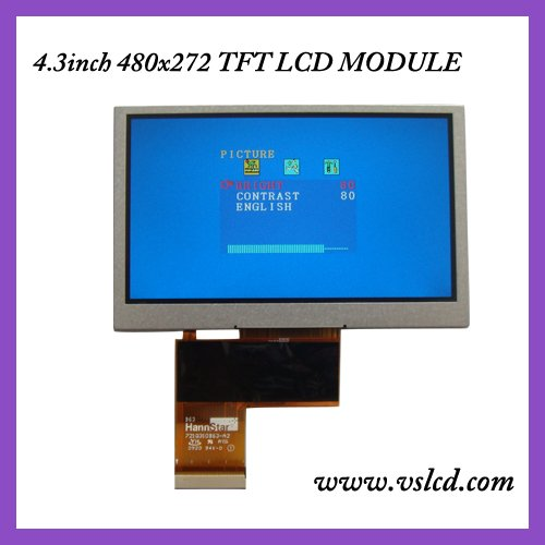 4.3 inch TFT LCD LCM HSD043I9W1 RGB 480*272 Display 40pin for GPS lcd<br><br>Aliexpress