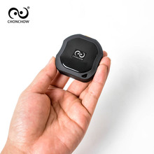 ChonChow Mini Personal 2G GPS Tracker GSM/GPRS LK109 IP68 Waterproof for Car Vehicle kid with Lifetime Free Platform EU usb Plug(China)