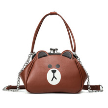 Women Bear duck frog rabbit Shoulder Bag Casual Tote Bags