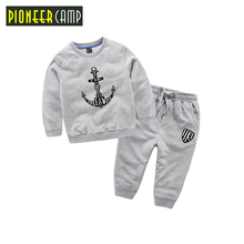 Pioneer Kids 2017 Baby Girls Suits Sports Children's Clothing Sets Baby Boys Spring Suit Set Baby Girl Long Sleeve Sets