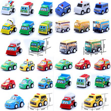 5pcs/set Mini Car Toy Car Models Were Shipped Back Hobbies Models Building Kits Toys for Children Christmas(China)