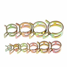 New 50Pcs 5/6/7/8/9mm Spring Clip Fuel Line Hose Water Pipe Air Tube Clamps Fastener