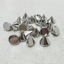 jewelry making punk style rivet spike taper stud have holes nail beauty cloths bag decals phone set case headband embellishment