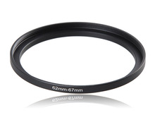 62-67mm Metal Camera Lens Filter Adapter Ring Thread Male 62mm to Female 67mm Step Up Mount UV CPL ND 2 4 8 Filter
