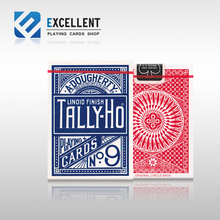 Hot Sale High Quality Tally Ho Playing Cards Magic Poprs Magic deck props(China)