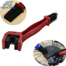 Cycle Zone Cycling Bicycle Motorcycle Chain Clean Brush Gear Grunge Brush Cleaner Outdoor Scrubber Tool Bike Chains Cleaners(China)