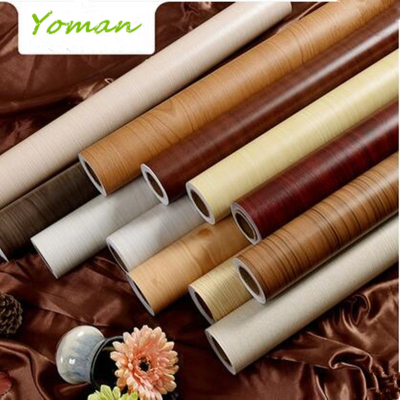 7 Color PVC Wallpaper Waterproof Vinyl Self Adhesive Wallpaper Roll For Living Room Modern Vintage Furniture Stickers Home Decor<br>