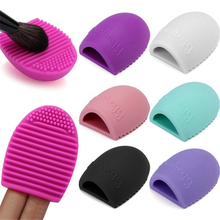 1PCS Silicone Makeup Brushegg Cleaning Washing Tools Make up Brush Clean Portable Brush Egg Cosmetic Brushes Cleaner Tool