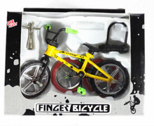 Mini Alloy Car Model Assembled Bicycle Toy Child Puzzle Model Decoration Mt Mountain Bike(China)