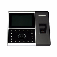 English & Spanish adjustable touch screen iface302 multi-biometric Time Attendance Access Control with web server printer(China)