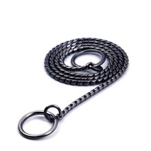 Stainless Steel Iron Dog Collar Plated Traction Rope Lead P Chain Pet Collar Necklace for Small Large Dogs Golden/Silver/Black(China)