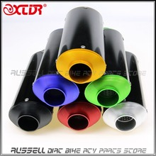 38mm Hole Diameter CNC EXHAUST MUFFLER For SSR Thumpstar LiFan YX SDG KLX110 KLX BBR Most of Dirt Pit Bike