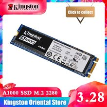 Kingston A1000 NVMe M.2 2280 SATA SSD 120 GB 240 GB 480 GB 960 GB Internal Solid State Drive жесткий диск SFF для ПК Тетрадь Ultrabook(China)