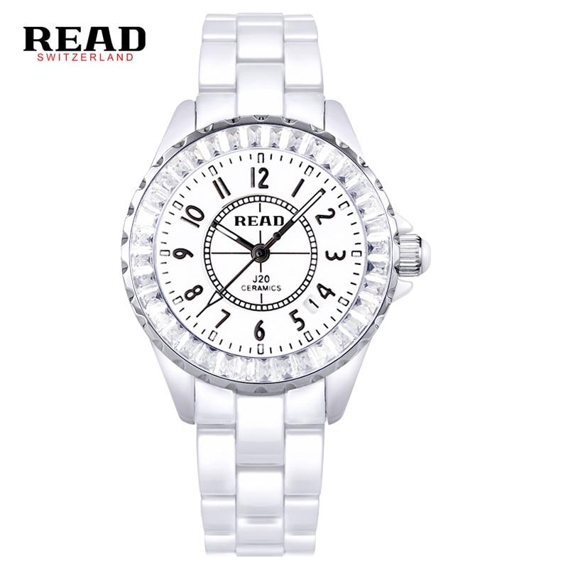 READ  brand Digital Womens  Watches dazzle beauty space ceramic girls quartz wrist watch female white 3002<br>