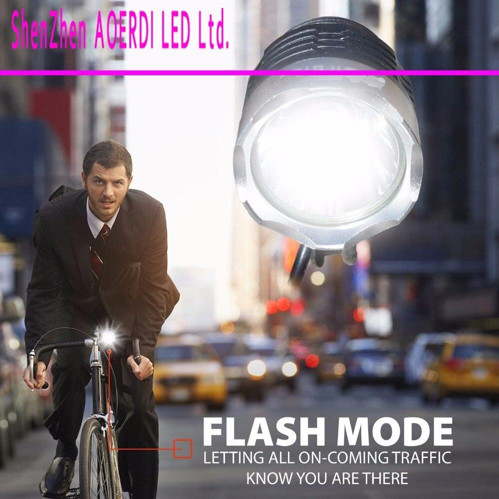 CREE XM-L T6 Bicycle Light Headlight 4000 Lumen LED Bike Light Lamp Headlamp + Charger + Battery Pack<br><br>Aliexpress