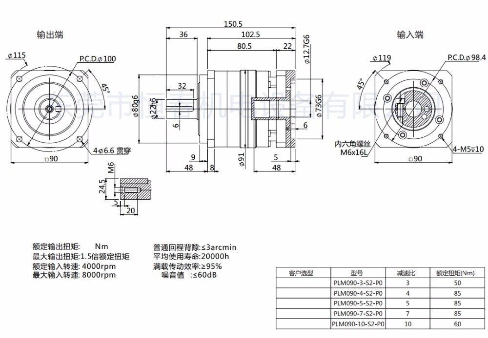 PLM090-L1-12.7
