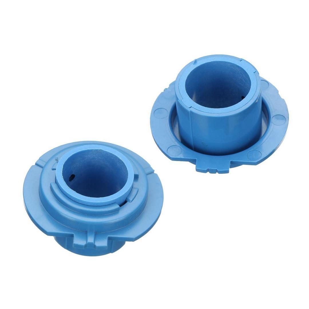 Mayitr 2pcs LED Headlight Bulb Base Adapter Socket Holder 880/HB4/HB3/H11/H7/H4/H3/H1 for Car Halogen Headlamps