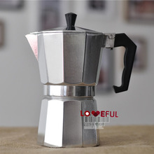 New Classic Percolator Stove Top Coffee Maker Moka Espresso Latte Aluminum Pot