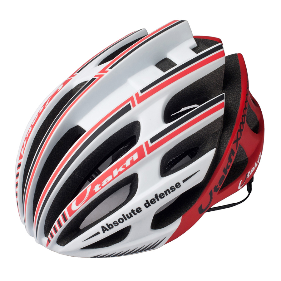 2017 Utakfi Cycling Helmets Road Bicycle Bike Helmets 220g 20 Vents Casco Ciclismo L 58-61cm White Black Red Cycling Equipment<br>