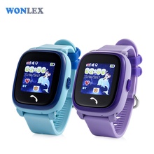 Wonlex IP67 Waterproof Smart Phone GPS Watch GW400S Kids GSM GPRS Locator Tracker Anti-Lost Touch Screen Kids GPS Watch(China)