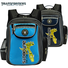 Transformers children/kids cartoon orthopedic elementary primary school bag books shoulder backpack portfolio for boys grade 1-3