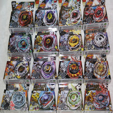16 different style BEYBLADE METAL FUSION FIGHT STARTER BEYBLADE SPIN TOP TOY BEYBLADES MIX ALL MODEL(China)