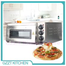 GZZT Single Deck Stone Commercial Pizza Oven Single Layer Baking Oven Kitchen Baking Machine