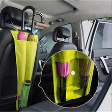 Car Seat Waterproof Foldable Case Umbrella Sheath Storage Hanging Long Bag Pouch