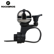 RockBros Bike Bicycle Ordinary Copper Bells Cycling Riding Ultra-light Handlebar Bell Horns Ring Crisp Ringing Mechanical Bell(China)