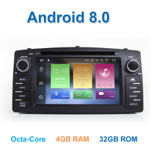 Android 8,0 DVD мультимедиа плеер радио gps для TOYOTA Corolla E120 e 120 BYD F3 с Wi-Fi стерео Bluetooth(Hong Kong,China)
